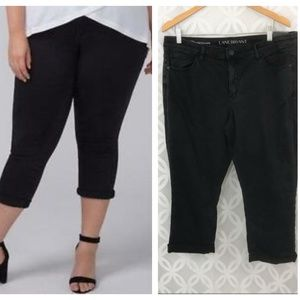 Lane Bryant Low Rise Super Stretch Capri Jeans